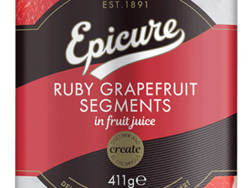 Epicure Ruby Grapefruit Segments In Fruit Juice