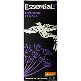 Essential Organic Fennel Teabags