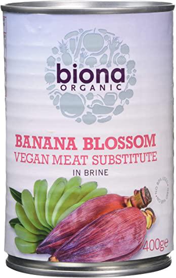 Biona Banana Blossom In Brine Organic