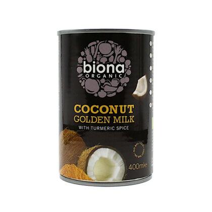Biona Golden Coconut Milk With Turmeric Spice Organic