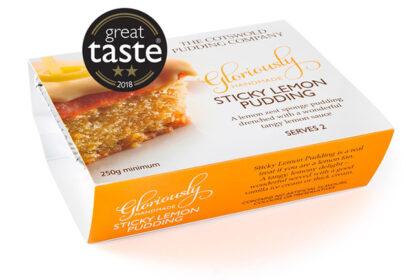 The Cotswold Pudding Company Sticky Lemon Pudding 250g