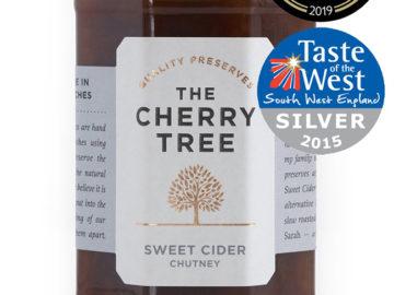 The Cherry Tree Sweet Cider Chutney