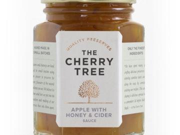 The Cherry Tree Apple with Honey & Cider Sauce