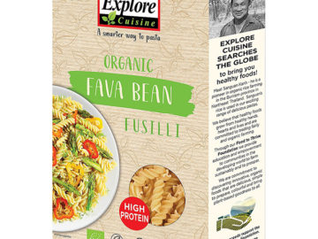 Explore Cuisine Fava Bean Fusilli Organic