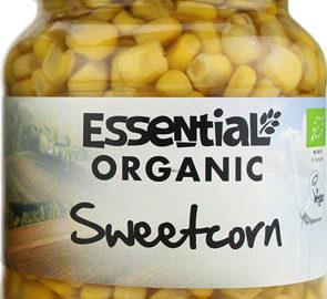 Essential Sweetcorn in a Jar Organic