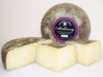 Woodlands Melbury Semi-Hard Sheeps Cheese Organic