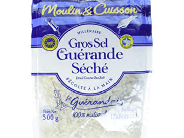 Moulin & Cuisson Coarse Grey Cooking Salt