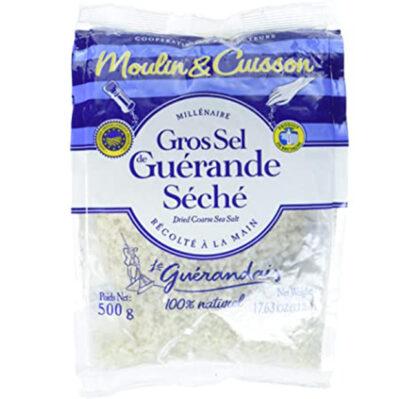 Le Guerandais Moulin & Cuisson Gros Sel seche Coarse Grey Cooking Salt