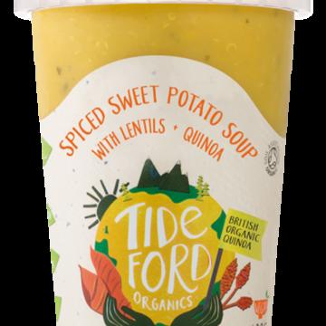 Tideford Sweet Potato Lentils Quinoa Soup