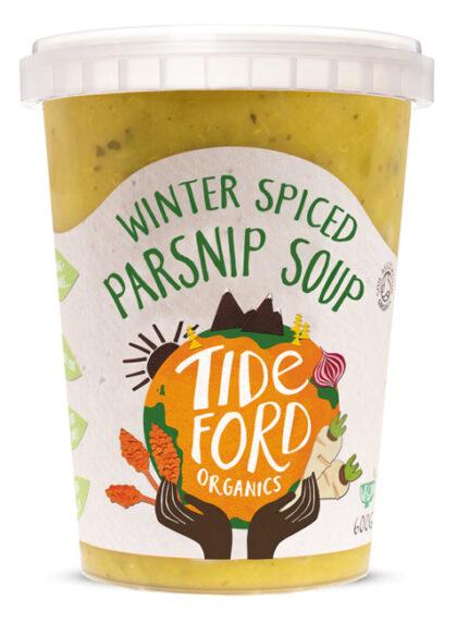 Tideford Winter Spiced Parsnip Soup Organic