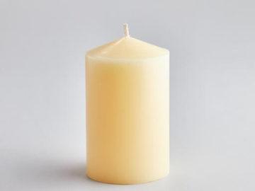 "St Eval 5"" Church Pillar Candle"