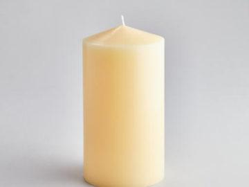 St Eval Church Pillar Candle 4″ x 8″