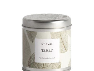 St Eval Tabac Candle in a Tin