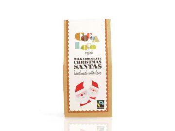 Cocoa Loco Milk Chocolate Santas Organic