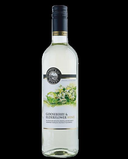 Lyme Bay Winery Gooseberry & Elderflower Wine