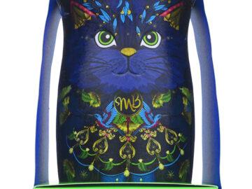 Monty Bojangles Vegan Truffles Spirit Blue Cat Tin