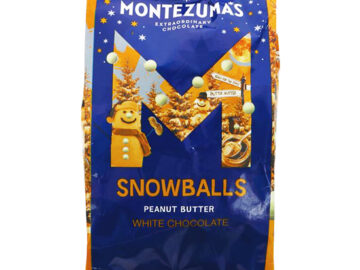 Montezuma's White Chocolate Peanut Butter Snowballs