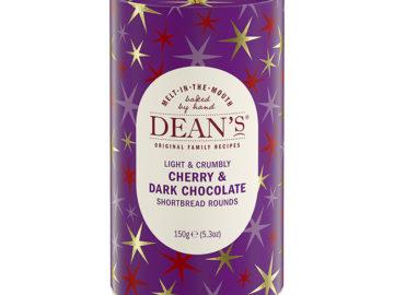 Dean's Cherry & Dark Chocolate Shortbread