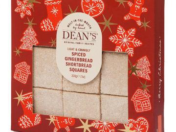 Deans Spiced Ginger Shortbread Squares