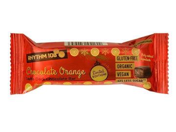 Rhythym 108 Chocolate Orange Dark Chocolate Bar Organic
