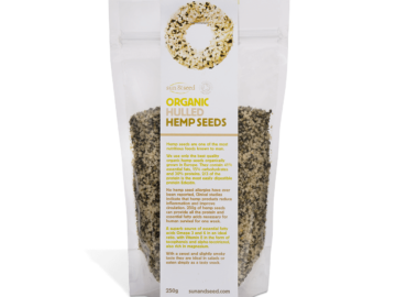 Sun & Seed Hulled Hemp Seeds Organic