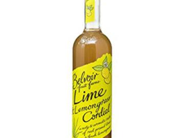 Belvoir Lime Lemongrass Cordial