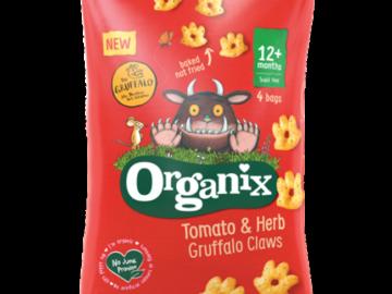 Organix Tomato & Herb Claws Organic