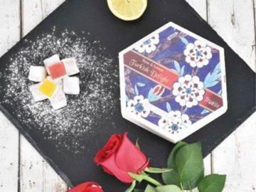 Truede Rose Lemon Turkish Delight
