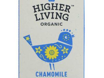 Higher Living Chamomile Vanilla Organic
