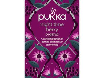 Pukka Night Time Berry Tea Organic ~ 17% OFF