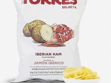Torres Iberian Ham Potato Crisps 50g