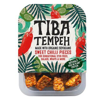 Tiba Tempeh Sweet Chilli Pieces Organic