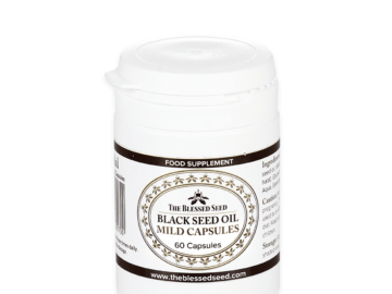 The Blessed Seed Black Seed Oil Capsules
