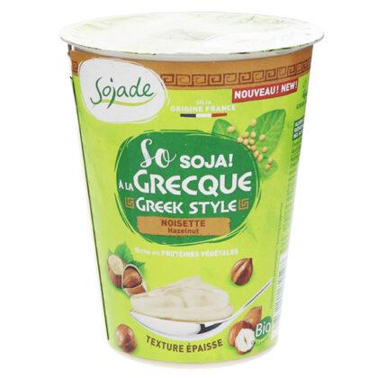 Sojade Greek Style Hazelnut Yogurt Organic