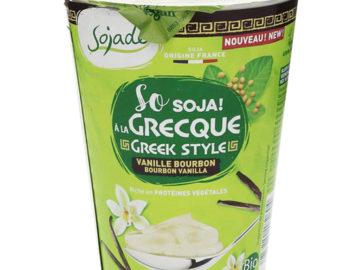 Sojade Greek Style Bourbon Vanilla Yogurt Organic