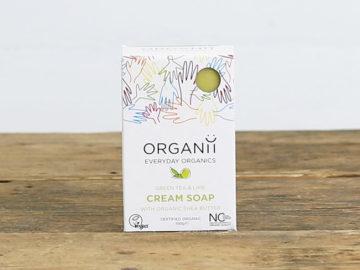 Organii Green Tea & Lime Soap