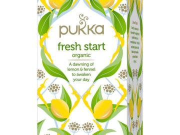 Pukka Fresh Start Tea Organic