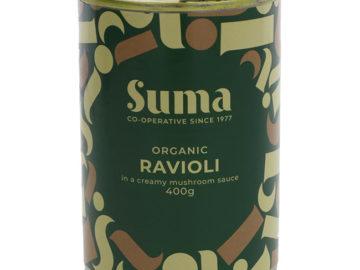 Suma Ravioli in a Creamy Mushroom Sauce Organic