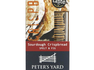Peter's Yard Fig & Spelt Sourdough Crackers