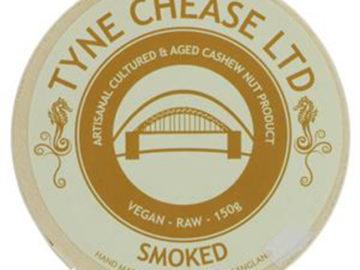 Tyne Chease Smoked Raw Vegan Cheese