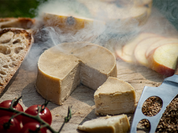 Tyne Chease Applewood Raw Vegan Cheese