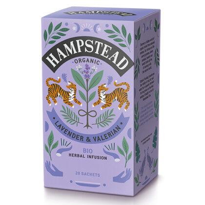 Hampstead Lavender & Valerian Tea Oranic