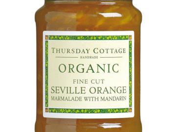 Thursday Cottage Fine Cut Seville Marmalade with Mandarin