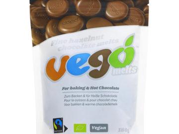 Vego Fine Hazelnut Chocolate Melts Organic