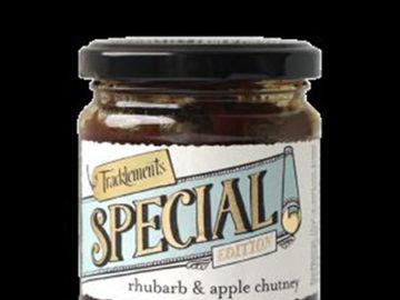 Tracklements Rhubarb Apple Chutney