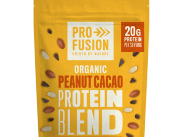 ProFusion Peanut Cacao Protein Blend Organic