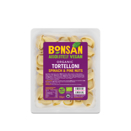 Bonsan Tortelloni Spinach and Pine Nuts Organic