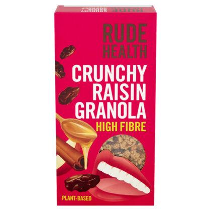 Rude Health High Fibre Crunchy Raisin Granola