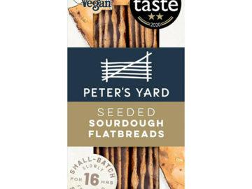 Peter's Yard Seeded Sourdough Flatbreads