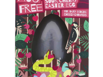 Moo Free Sour Cherry Easter Egg Organic